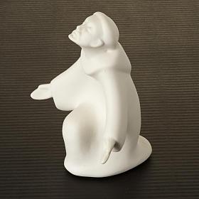 São Francisco miniatura Francesco Pinton 12 cm s2
