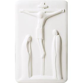 Bassorilievo Compassione Francesco Pinton 29 cm s1