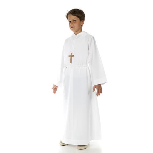 Aube communion avec capuchon 8