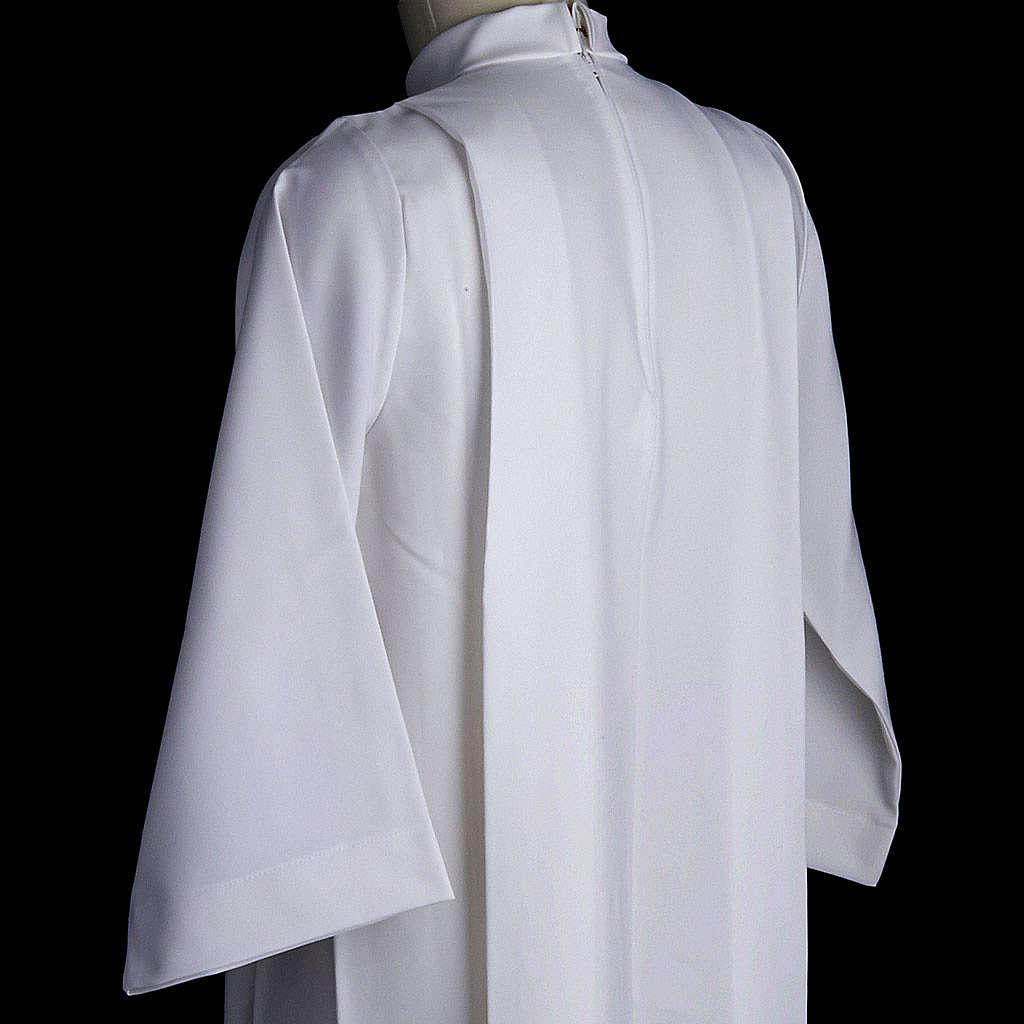 Aube communion fille deux plis 4
