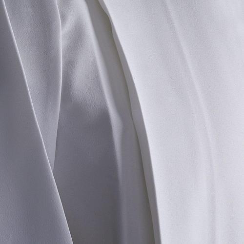 Aube communion fille deux plis 5