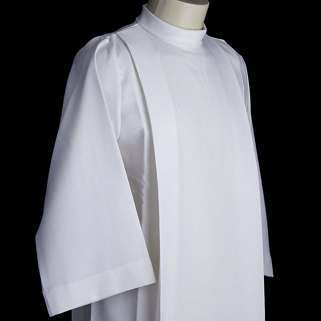 Holy Communion alb for girls with 2 pleats 4