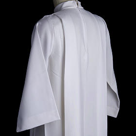 Holy Communion alb for girls with 2 pleats s4