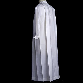 Holy Communion alb for girls with 2 pleats s6