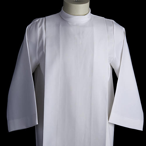 Holy Communion alb for girls with 2 pleats 2