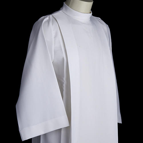 Holy Communion alb for girls with 2 pleats 3