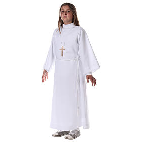 First communion alb white s1