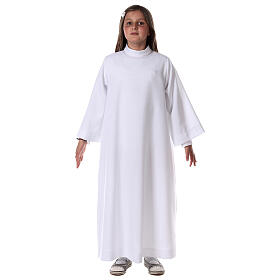First communion alb white s3
