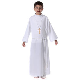 First communion alb white s4