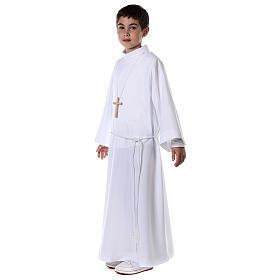 First communion alb white s6