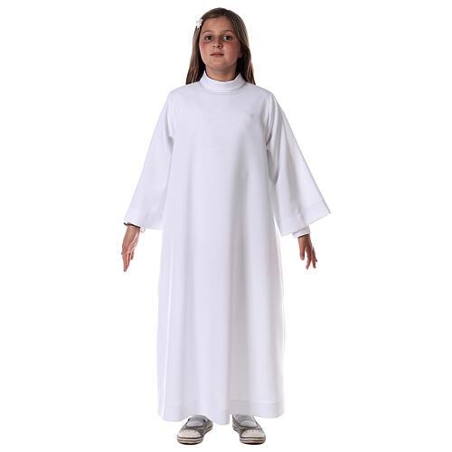 First communion alb white 3