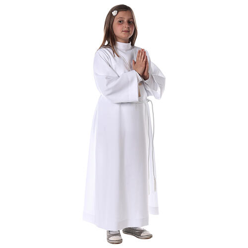 First communion alb white 8