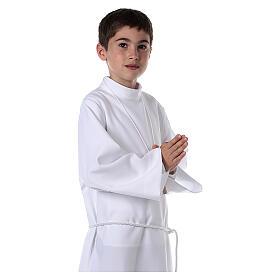 Vestido de primera comunión blanco de niña