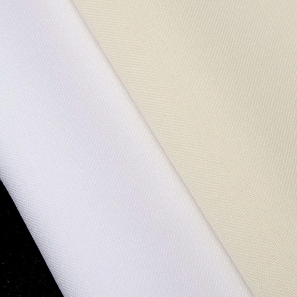 Aube communion fille blanche 4