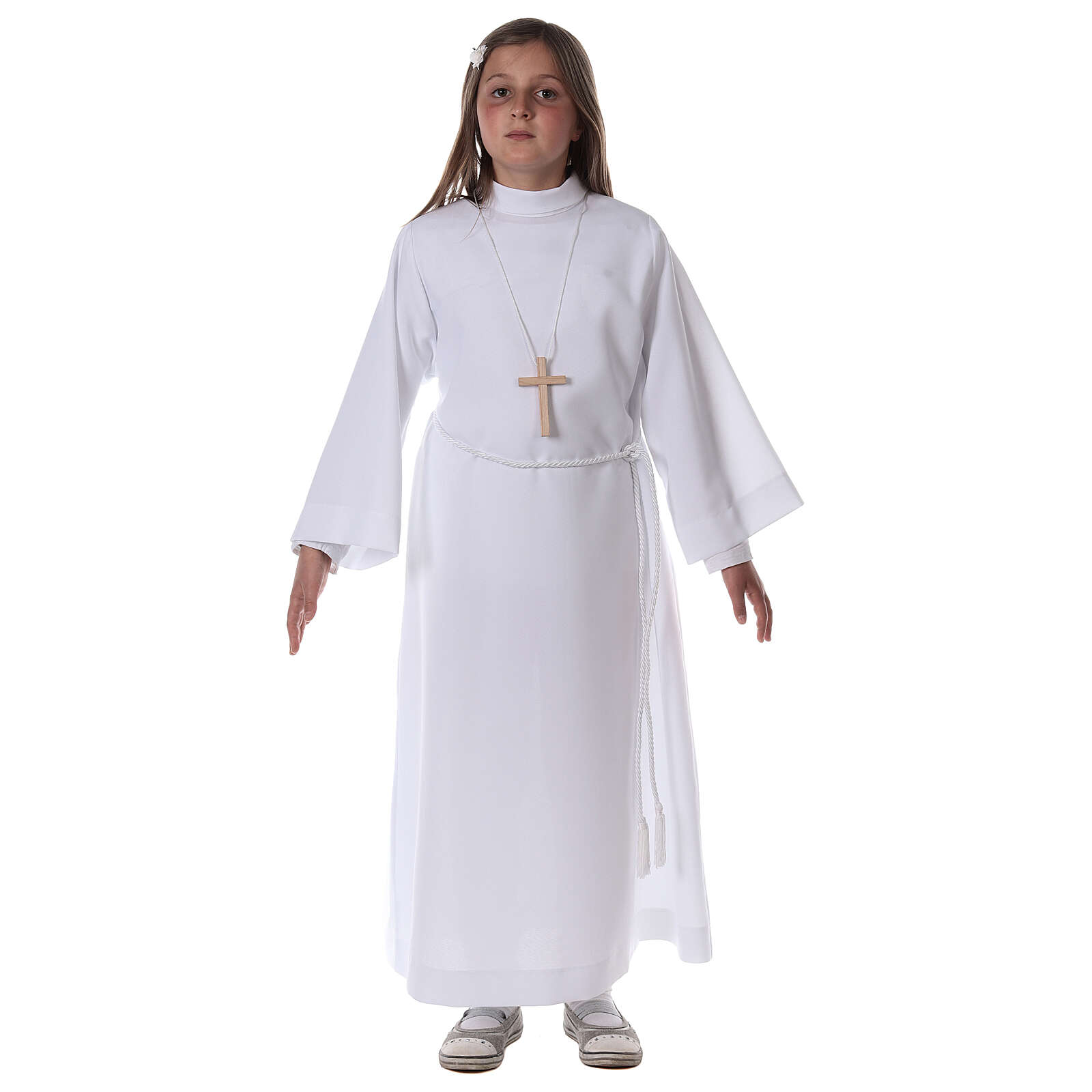 Aube communion blanche 4
