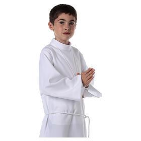 Sukienka komunijna dla dziewczynki biała s2