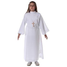 Sukienka komunijna dla dziewczynki biała s3
