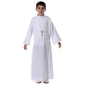 Sukienka komunijna dla dziewczynki biała s5