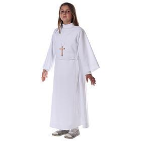 Sukienka komunijna dla dziewczynki biała s6