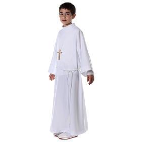 Sukienka komunijna dla dziewczynki biała s7
