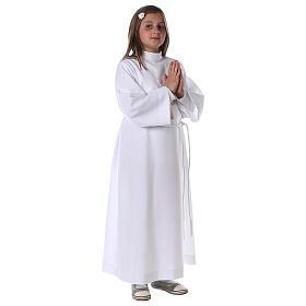 Sukienka komunijna dla dziewczynki biała s8