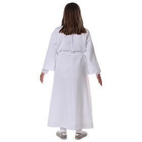 Sukienka komunijna dla dziewczynki biała s10