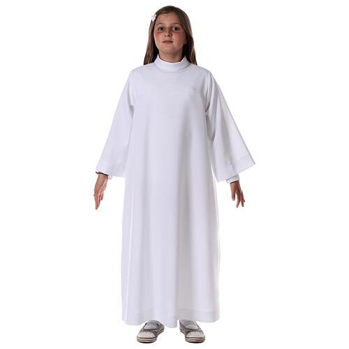 Sukienka komunijna dla dziewczynki biała 1