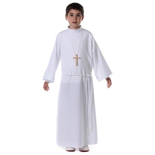 Sukienka komunijna dla dziewczynki biała 5