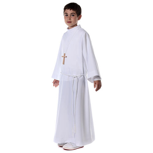 Sukienka komunijna dla dziewczynki biała 7