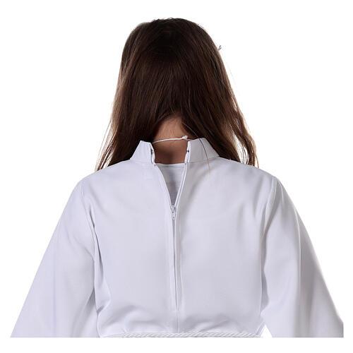 Sukienka komunijna dla dziewczynki biała 9
