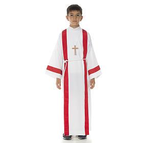 Aube communion avec bord rouge s7