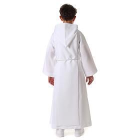 Aube communion scapulaire bord or s15