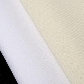 First communion alb for girl scapular thin golden edges s9