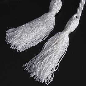 Rope cincture for Communion alb with tassel s3