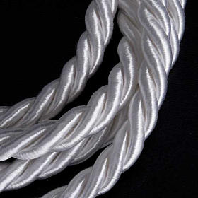 Rope cincture for Communion alb with tassel s4