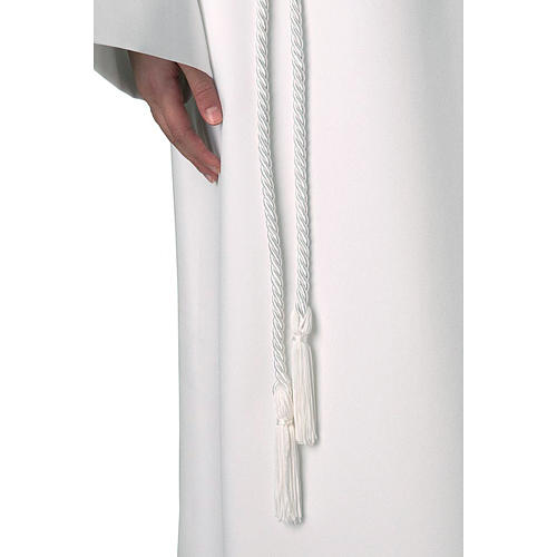 Rope cincture for Communion alb with tassel 1