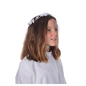 Accessoire aube communion: serre-tête s5