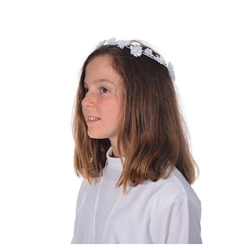 Accessoire aube communion: serre-tête 4