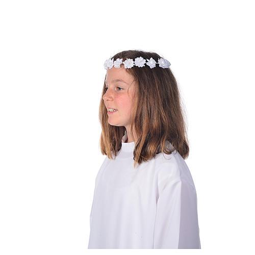 Accessoire aube communion: serre-tête 2