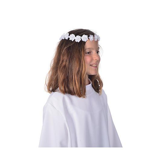 Accessoire aube communion: serre-tête 3