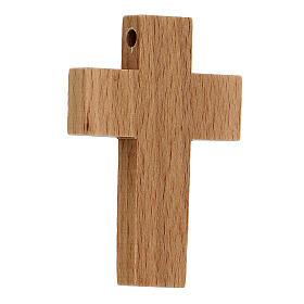 Croix première communion en bois calice s4