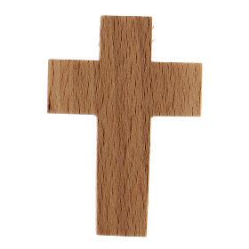 Croix première communion en bois calice s5