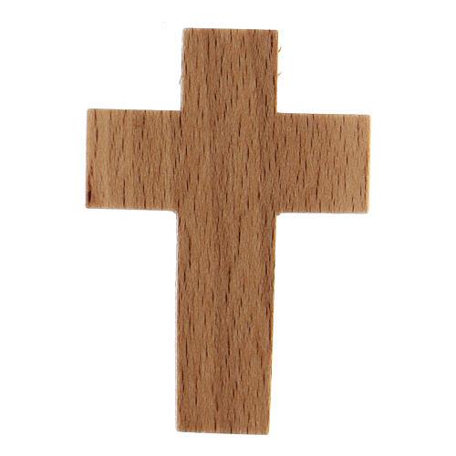 Croix première communion en bois calice 2