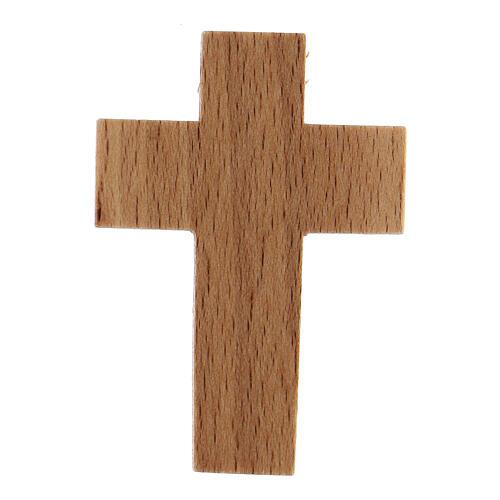 Croix première communion en bois calice 5