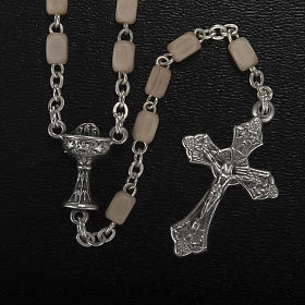 Confección Primera Comunión rosario, cruz s2