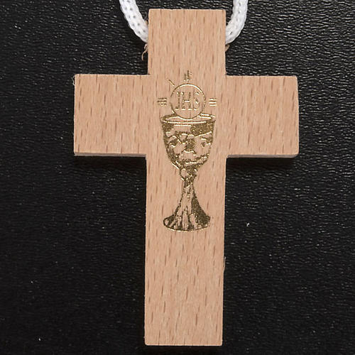 Confezione Prima Comunione crocetta rosario portarosario 2