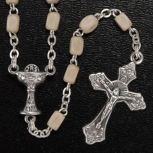 Confezione Prima Comunione crocetta rosario portarosario 3