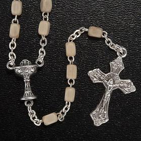 Confezione Prima Comunione crocifisso rosario portaros. spilla s2