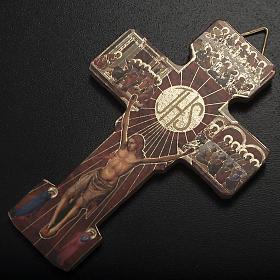 Confezione Prima Comunione crocifisso rosario portaros. spilla s4