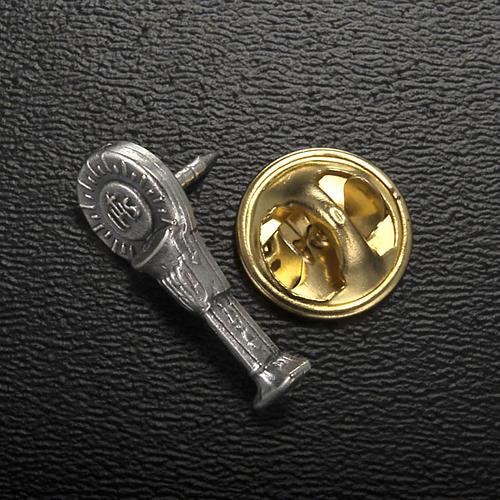 Confezione Prima Comunione crocifisso rosario portaros. spilla 5